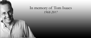 Update on Tom Isaacs EJN Special Issue