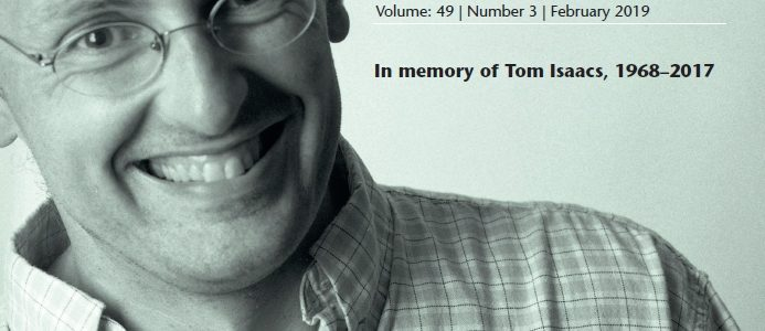 Tom Isaacs Special Issue
